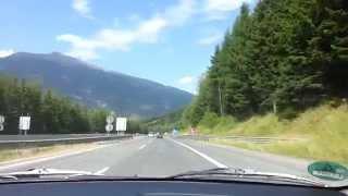 Tauern Autobahn, Richtung Salzburg
