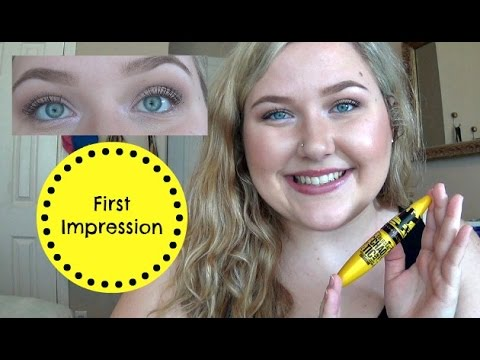 badd180d222 Maybelline Colossal Chaotic Mascara | First Impression - YouTube