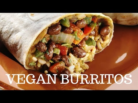 EASY VEGAN BURRITO RECIPE