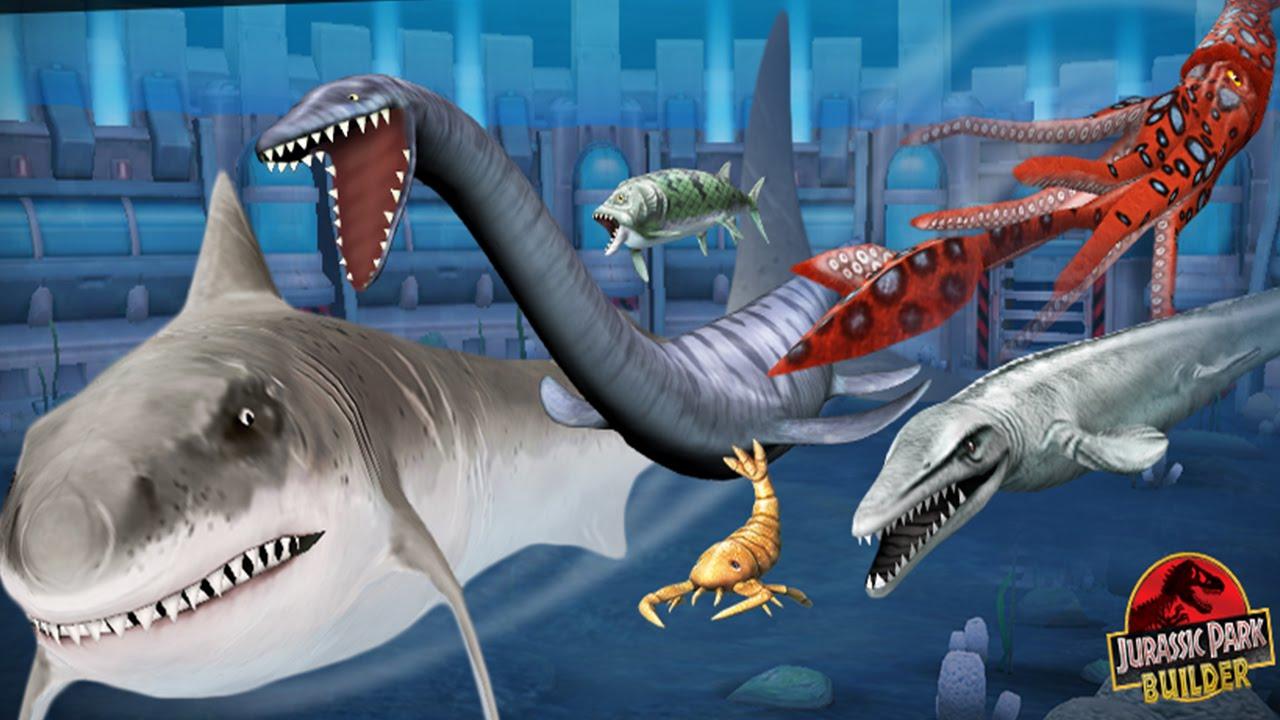 Top 5 - Best Sea Creatures in Jurassic Park Builder [2014 ...