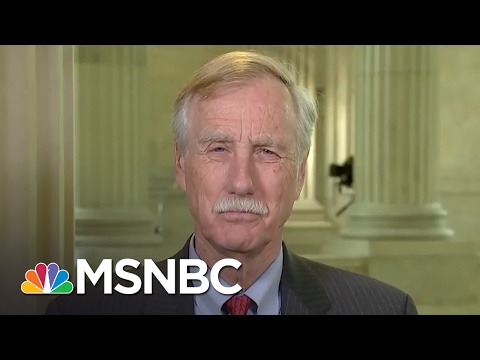 Senator Angus King: Investigation On Michael Flynn, Russia Will Occur | MSNBC