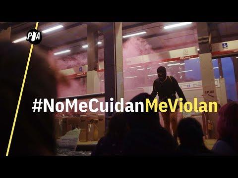 Marcha feminista en CDMX infiltrada por la violencia