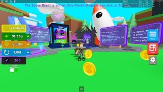 GIVEAWAY PETS IN MAGNET SIMULATOR (NEW SPACE) (FREE ROBUX)