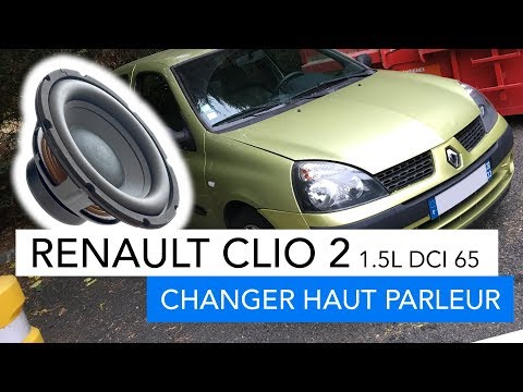 Renault Clio 2 - How to replace speaker