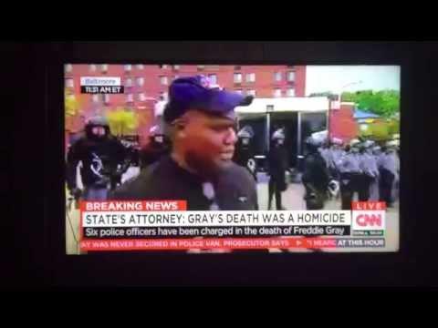 Former Marine speaks on Baltimore and Racism