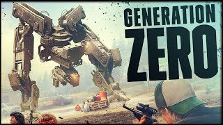 THEY DESTROYED MANKIND! The Most Intense Game I've Played In A Long Time - Generation Zero Gameplay