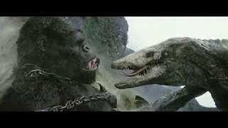 Конг VS Черепозавр. Часть-1. \ Конг : Остров черепа