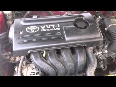 Toyota Corolla vvti Intake manifold noise and fix