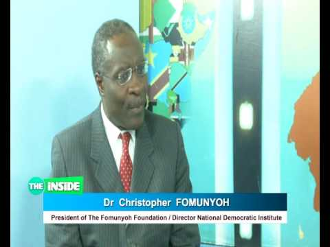 EQUINOXE TELEVISION PRESENTS THE INSIDE BROADCAST OF JANUARY  01 2017 PAD Dr CHRISTOPHER FOMUNYOH IN