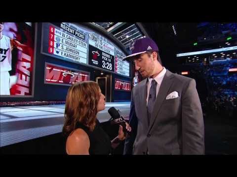 Hornets Select Frank Kaminsky 9th in 2015 NBA Draft