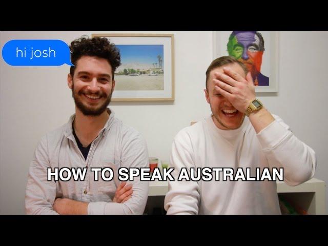 How to speak Australian : Abbreviate Everything