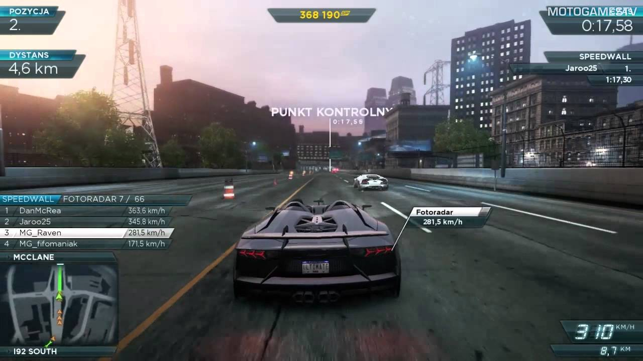 Need For Speed Most Wanted 2012   Lamborghini Aventador J Gameplay   YouTube