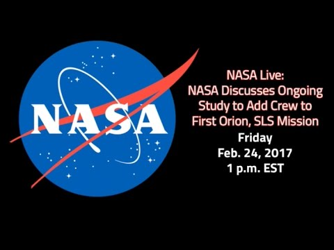 NASA LIVE: Study to add crew to first SLS Mission (Audio only)