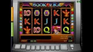видео Игровой автомат Book of Ra Deluxe онлайн бесплатно