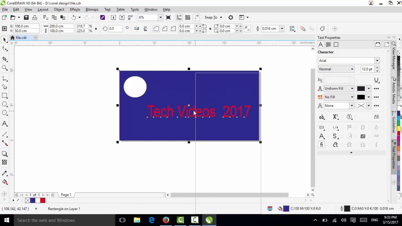 Corel draw viewer online - How To Save Save As New Document Import Export In Coreldraw X8 Khmer