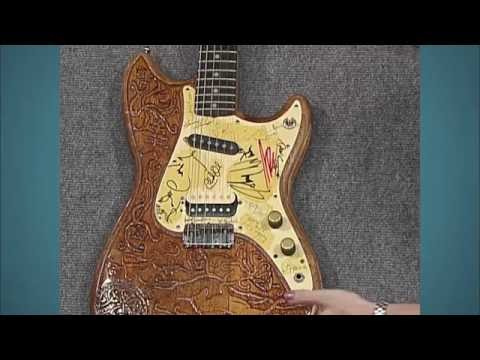 Autographed Electric Guitar | Vintage Indianapolis Preview