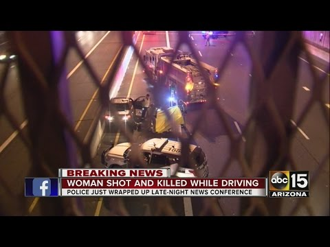 Woman shot, killed on Freeway in Phoenix