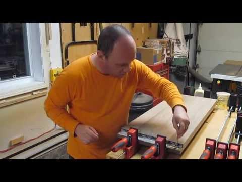 Fabrication d'un meuble audio-vidéo accroché au mur