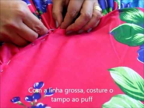 NaCasaDelaTem ensina a fazer um puff em tecido!