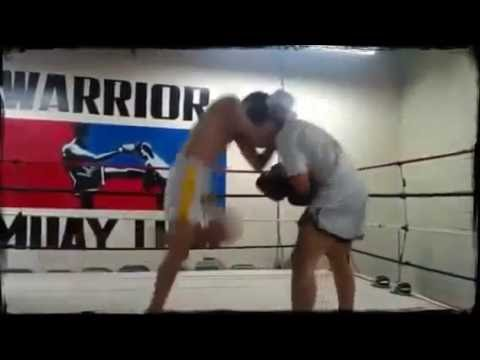Muay Thai Training with Kru Chris Williams Champions Academy