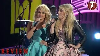 meghan trainor feat miranda lambert all about that bass performance cma country music awards review