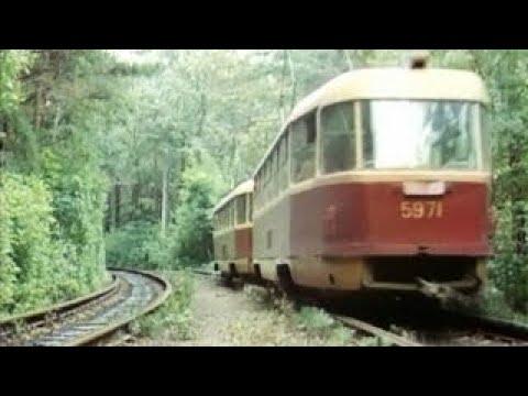 Trolleybuses and Trams of Ukraine on TV (1960-2005)