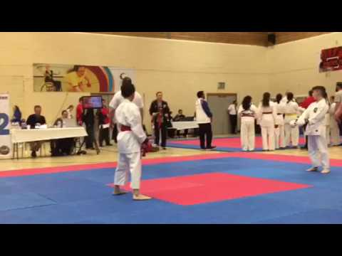Langworthy Squad Ken Yu Kai Kumite -Liverpool Open Karate Tournament 2017