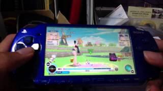 Pangya Fantasy Golf PSP Gameplay