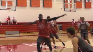 Louisville Basketball Practice Clips 10.04.17