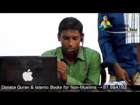 Convert to Islam (Tamil) Aadam BSC @ Siva Way to Paradise Class