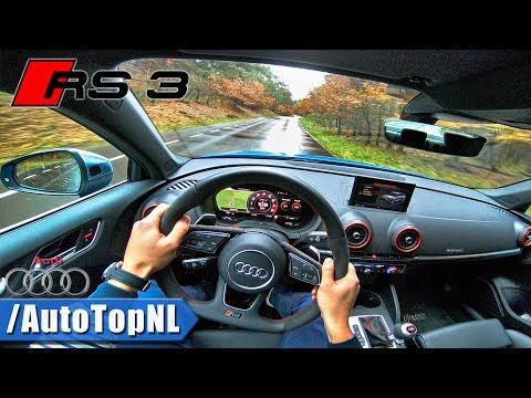 2018 Audi RS3 Sedan POV Test Drive by AutoTopNL