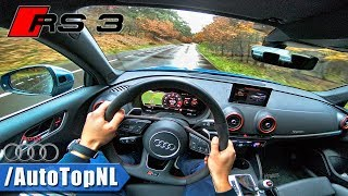 2018 Audi RS3 Sedan POV Test Drive by AutoTopNL