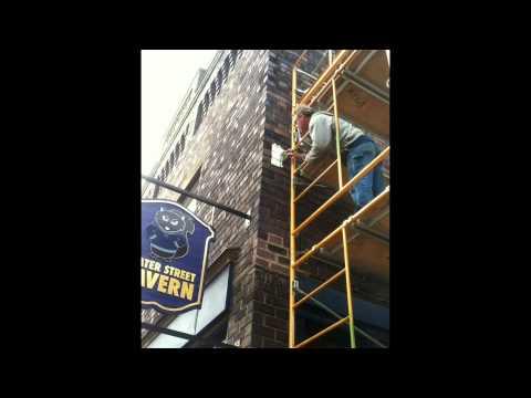 Joe Walsh Mural at the Water Street Tavern // Kent, OH