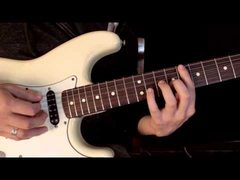 Como Tocar Scar Tissue - Red Hot Chili Peppers - Leccion de Guitarra inspirada en John Frusciante