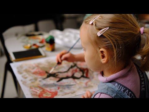 Наскальная живопись | Мастер-класс от Ирины Гладких
