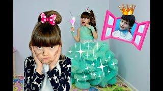 МАРИЯ как ЗОЛУШКА ! MARIA as Cinderella Funny kids story