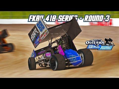 iRacing: FKAU 410 Series - Round 3 (410 Sprintcars @ Eldora)