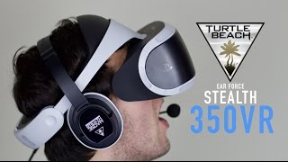 Turtle Beach Stealth 350VR Headset Review amp Mic Test