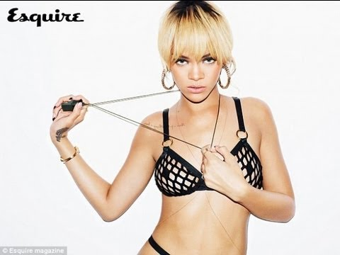 Rihanna Naked in Esquire Magazine!