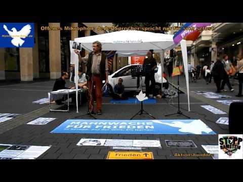 Mahnwache Bonn   03 10 2015   2 von 5   Verschwörungstheorien, Falsche Fotos in Medien Berichten