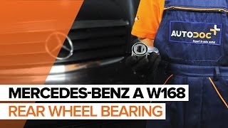 How to change Axle shaft bearing on MERCEDES-BENZ A-CLASS (W168) - online free video