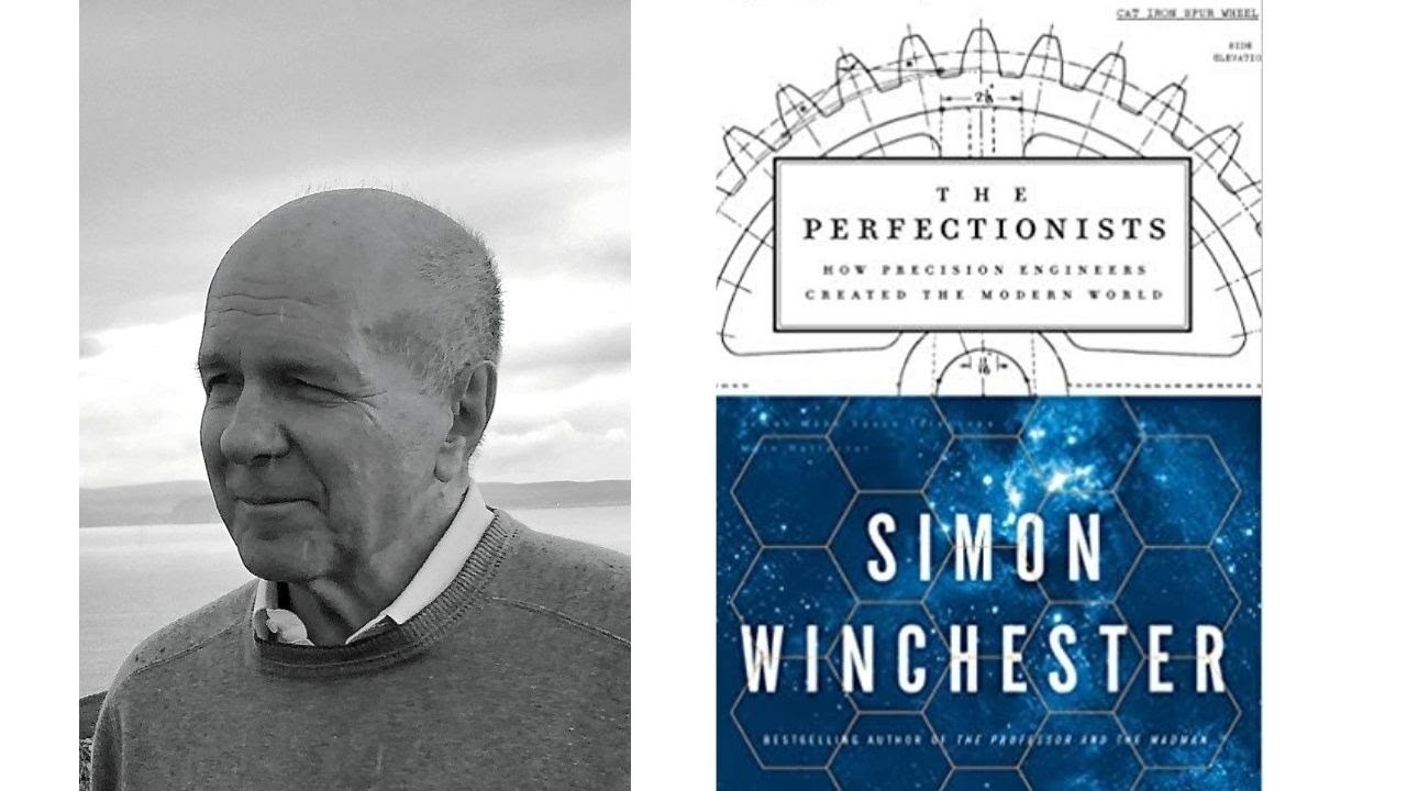 Image for Author Talk: The Perfectionists with Simon Winchester webinar