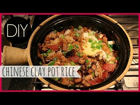 How to Cook Chinese Clay Pot Chicken Rice (煲仔雞飯)