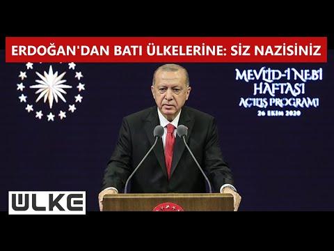 Erdoğan: ''Sakın Fransız markalarını satın almayın''