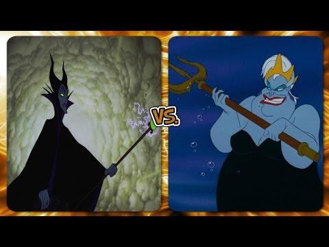 Disney Versus Battles: Maleficent vs Ursula (full video )