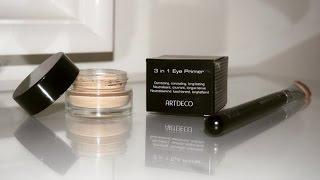 ARTDECO 3 in 1 Eye Primer Review (concealer/eyeshadow base/eye primer)