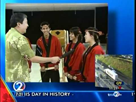 PBA Taiko 2011 KHON2 Morning News Part 3