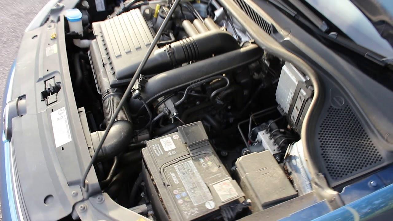 2015 Volkswagen Polo 1 2 Tsi Se 3dr Engine Bay