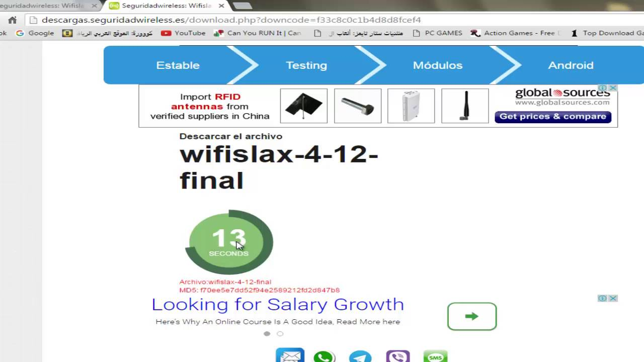 Wifislax 4. 12 download for pc free.