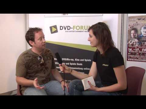 Oliver Robins im  auf dem 1. Weekend of Horrors in Wien  DVDForum.at